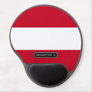 Flagge von Österreich Gel Mousepad