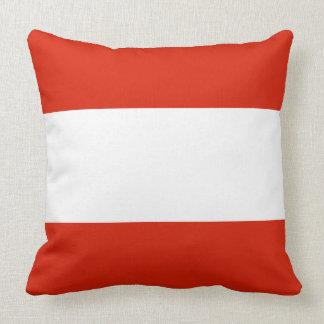 Flagge von Österreich Kissen