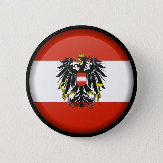 Flagge von Österreich-Knopf Runder Button 5,1 Cm
