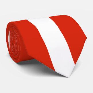 Flagge von Österreich Krawatte