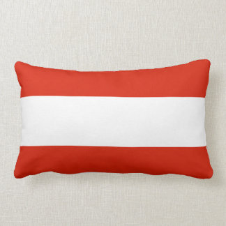 Flagge von Österreich Lendenkissen