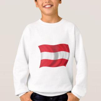 Flagge von Österreich Sweatshirt