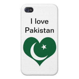 Flagge von Pakistan iPhone 4 Etuis