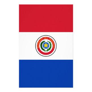 Flagge von Paraguay Briefpapier