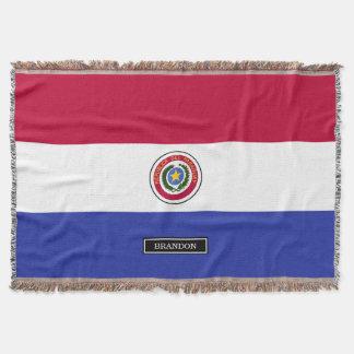 Flagge von Paraguay Decke