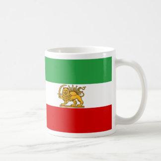 Flagge von Persien/von Iran (1964-1980) Kaffeetasse