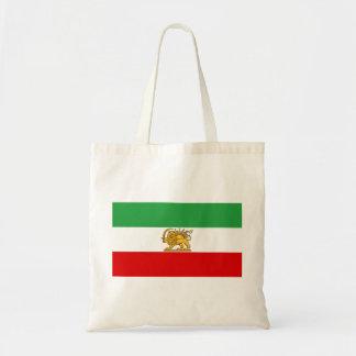 Flagge von Persien/von Iran (1964-1980) Tragetasche