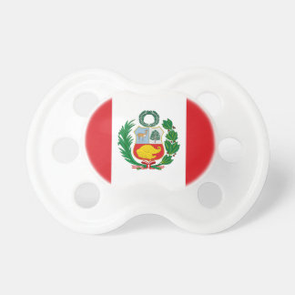 Flagge von Peru Schnuller