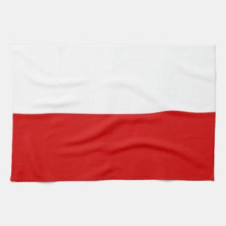 Flagge von Polen Küchentuch