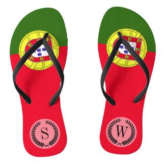 Flagge von Portugal Flip Flops