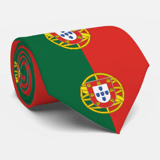 Flagge von Portugal Krawatte