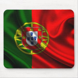 Flagge von Portugal, portugiesische Flagge Mauspads