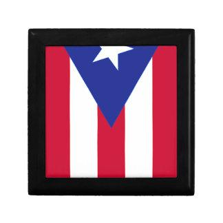Flagge von Puerto- Rico - Banderade Puerto Rico Geschenkbox