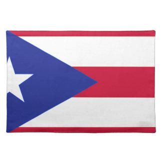 Flagge von Puerto- Rico - Banderade Puerto Rico Tischset
