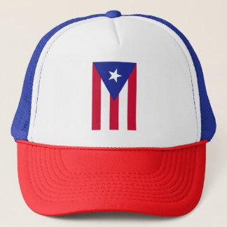 Flagge von Puerto- Rico - Banderade Puerto Rico Truckerkappe
