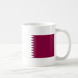 Flagge von Qatar Kaffeetasse