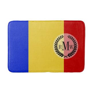 Flagge von Rumänien Badematte