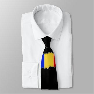 Flagge von Rumänien Krawatte