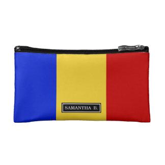 Flagge von Rumänien Makeup-Tasche