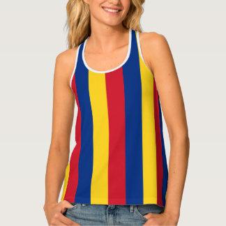 Flagge von Rumänien Tanktop