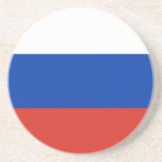 Flagge von Russland - ФлагРоссии - Триколор Getränkeuntersetzer