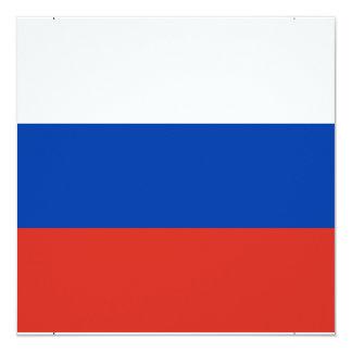 Flagge von Russland - ФлагРоссии - Триколор Karte