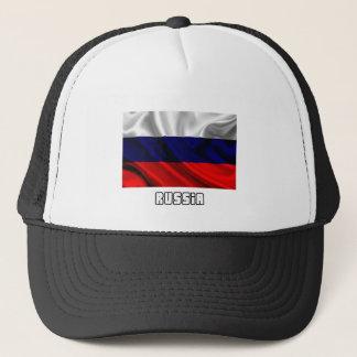 Flagge von Russland, russische Flagge Truckerkappe