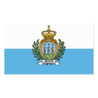 Flagge von San- MarinoVisitenkarten Visitenkarten