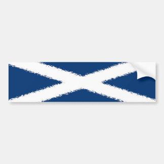 Flagge von Schottland Autoaufkleber