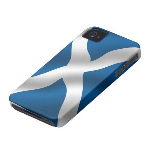 Flagge von Schottland-Case-Mate ID™ iPhone 4/4S Fa Case-Mate iPhone 4 Hüllen