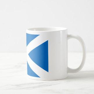 Flagge von Schottland - schottische Flagge Kaffeetasse
