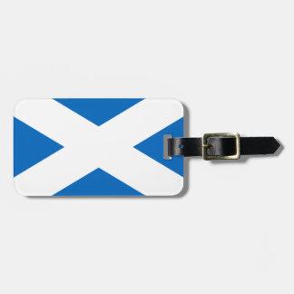 Flagge von Schottland - schottische Flagge Kofferanhänger