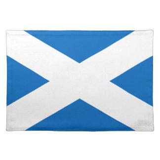 Flagge von Schottland - schottische Flagge Tischset