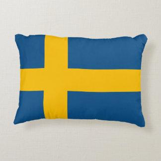Flagge von Schweden Dekokissen