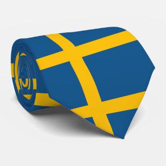Flagge von Schweden Krawatte