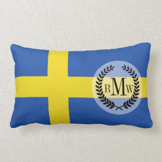 Flagge von Schweden Lendenkissen