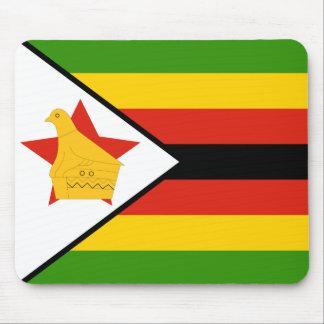 Flagge von Simbabwe Afrika Mauspads