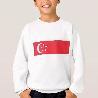 Flagge von Singapur - 新加坡国旗 - Bendera Singapura Sweatshirt