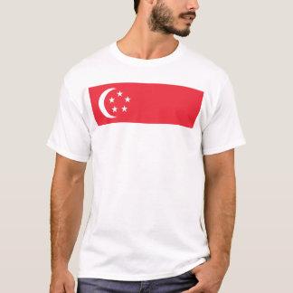 Flagge von Singapur - 新加坡国旗 - Bendera Singapura T-Shirt