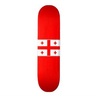 Flagge von Skateboard Georgia (Land) 20,1 Cm Skateboard Deck