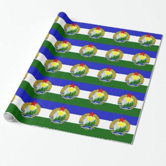 Flagge von sozialistischem Cascadia Geschenkpapier