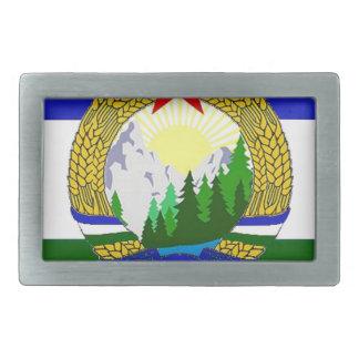 Flagge von sozialistischem Cascadia Rechteckige Gürtelschnalle