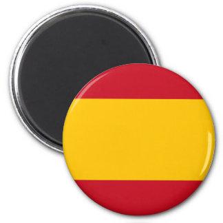 Flagge von Spanien, Bandera de España, Bandera Runder Magnet 5,7 Cm