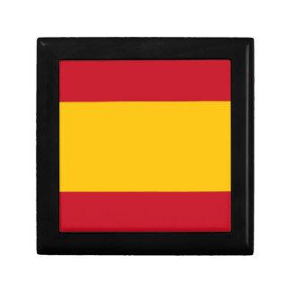 Flagge von Spanien, Bandera de España, Bandera Schmuckschachtel