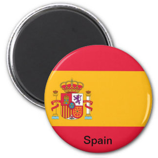 Flagge von Spanien Magnete