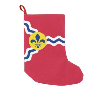 Flagge von St. Louis, Missouri Kleiner Weihnachtsstrumpf