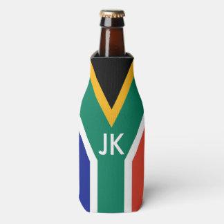 Flagge von Südafrika Bokke Flaschenkühler