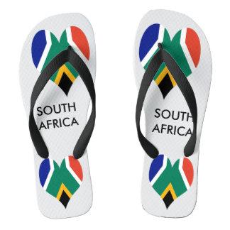 Flagge von Südafrika Bokke Flip Flops