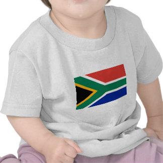 Flagge von Südafrika Shirts