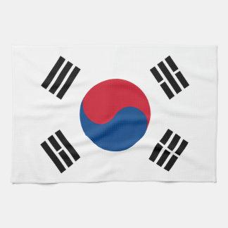 Flagge von Südkorea Geschirrtuch